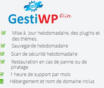 Gestion de mise à jour WordPress